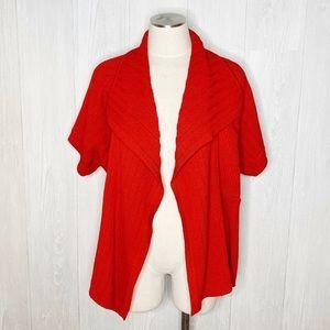 St. John | Short Sleeve Layering Cardigan Sz. L